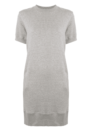 Sacai storm flap fitted dress - Grey