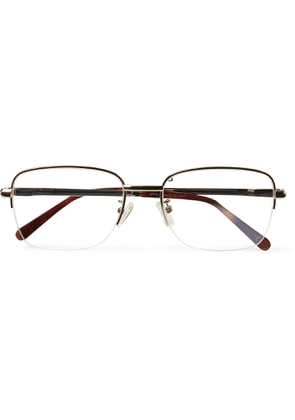 Brioni - D-Frame Gold-Tone and Tortoiseshell Acetate Optical Glasses - Men - Gold