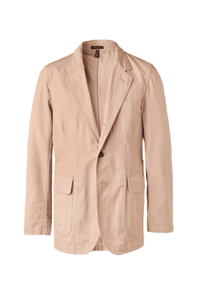 Drake's - Unstructured Cotton Suit Jacket - Pink