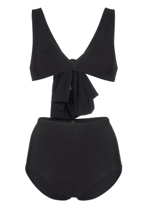 Araks Rosemund Mallory big bow triangle bikini - Black