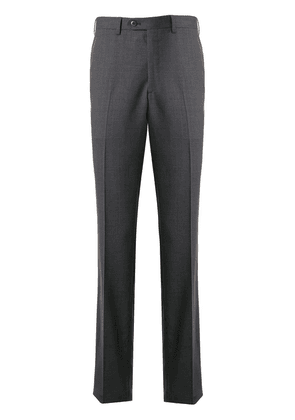 Brioni high-rise tailored trousers - Grey