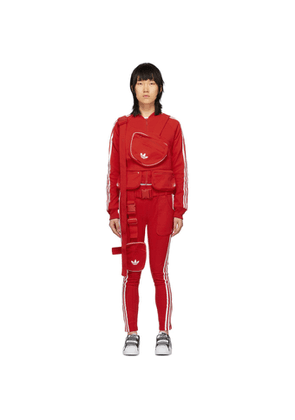 adidas Originals Red Ji Won Choi and Olivia OBlanc Edition SST Track Jacket