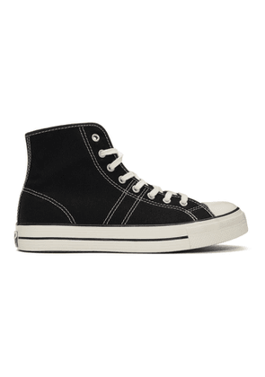Converse Black Lucky Star High-Top Sneakers