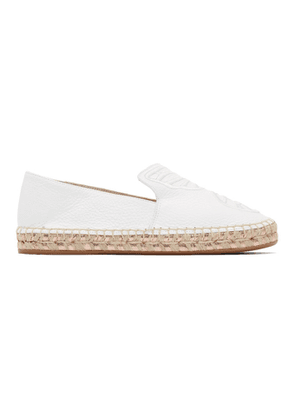 Sophia Webster White Butterfly Espadrilles