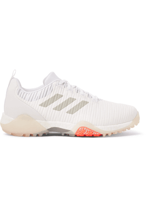 Adidas Golf - Codechaos Faux Leather And Coated-mesh Sneakers - White