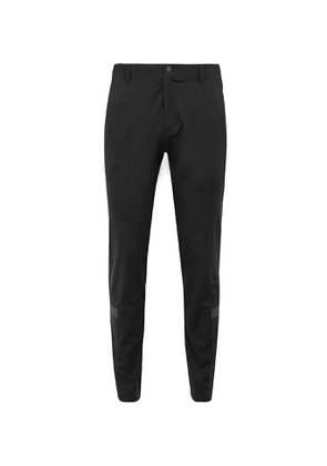 Adidas Golf - Slim-fit Tapered Warp Knit Golf Trousers - Black