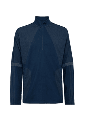 Adidas Golf - Sport Warp Knit Half-zip Golf Top - Blue