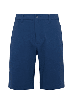 Adidas Golf - Adipure Slim-fit Stretch-seersucker Golf Shorts - Blue