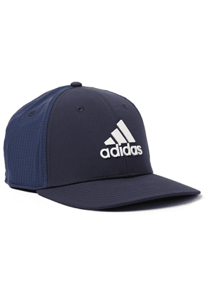 Adidas Golf - Golf Tour Logo-appliquéd Shell And Mesh Baseball Cap - Blue