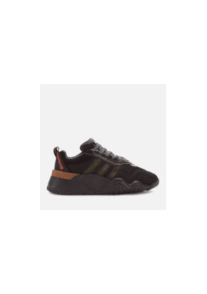 adidas Originals by Alexander Wang Turnout Trainers - Core Black/Yellow - UK 5