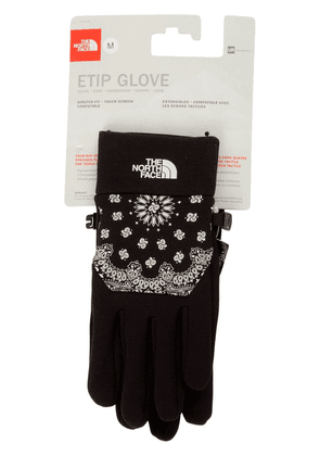 Supreme x The North Face Etip gloves - Black