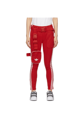 adidas Originals Red Ji Won Choi and Olivia OBlanc Edition SST Track Pants