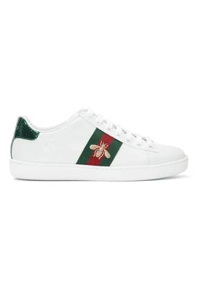 Gucci White New Ace Sneakers