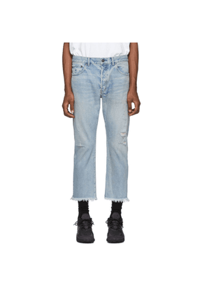 John Elliott Blue The Kane 2 Jeans