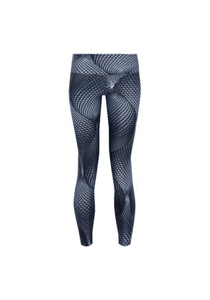Bodyism I Am Visionary Printed Stretch Leggings Woman Navy Size L