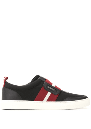 Bally striped low-top sneakers - Black