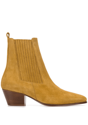 Sandro Paris Amelya pointed-toe boots - AMBRE