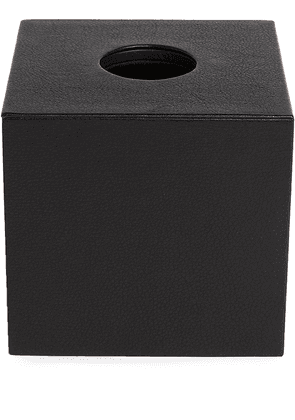 Michael Verheyden Niez cube tissue box - Black