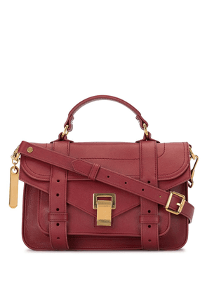 Proenza Schouler tiny PS1 crossbody bag - Red