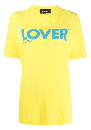 Dsquared2 Lover T-shirt - Yellow