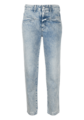 Closed cropped mid-rise jeans - Blue