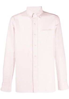 Tom Ford chest pocket buttoned shirt - PINK