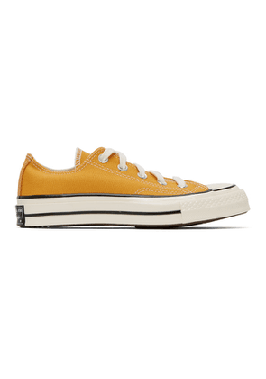 Converse Yellow Chuck 70 Low Sneakers