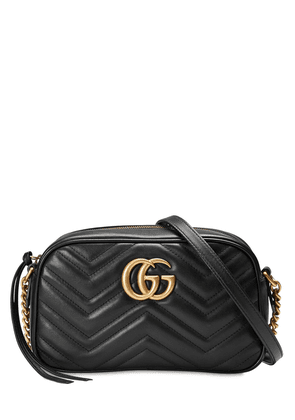 Gg Marmont Leather Camera Bag
