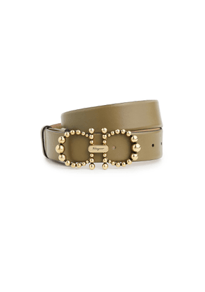 Salvatore Ferragamo Gancio Pearls Belt