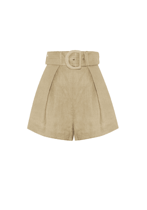 Exclusive to Mytheresa – Linen shorts