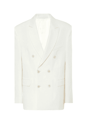 Release 04 double-breasted blazer