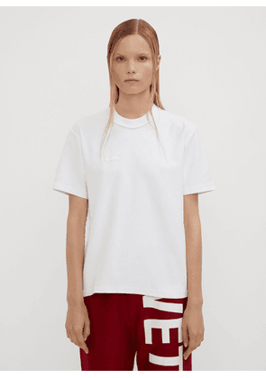 Vetements Fitted Inside Out T-Shirt in White size L