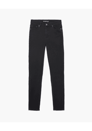 The Kooples - Grey cropped slim jeans - WOMEN