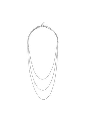 Iris & Ink Charlotte 18-karat White Gold-plated Sterling Silver Necklace Woman Silver Size --