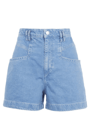 Esquia High-Waisted Denim Shorts