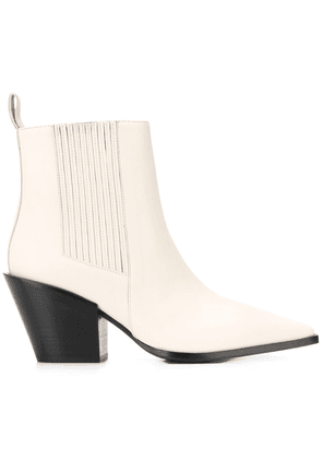 aeyde ankle boots - NEUTRALS