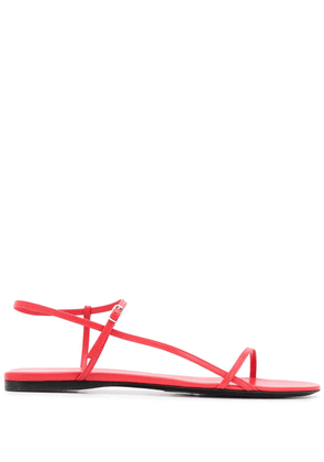 The Row Bare strappy sandals - Red