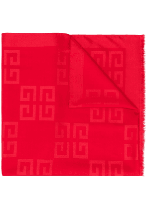 Givenchy 4G logo scarf - Red