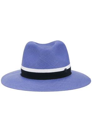 Maison Michel Henrietta straw hat - Blue