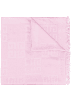 Givenchy 4G logo scarf - PINK