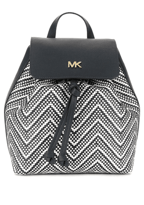 Michael Michael Kors woven-effect backpack - Blue