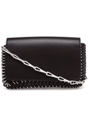Paco Rabanne chain-mail clutch bag - Black