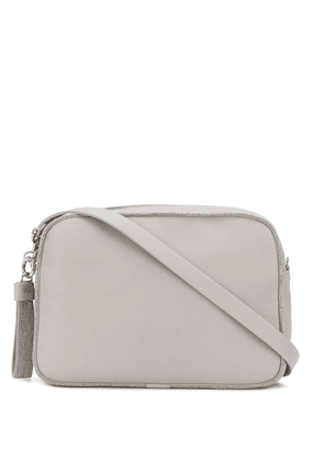 Fabiana Filippi monili embellished crossbody bag - Grey