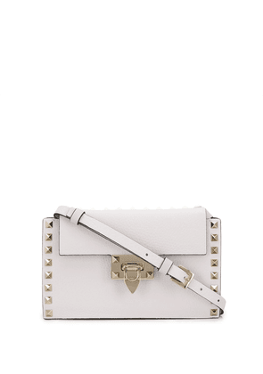 Valentino small Valentino Garavani Rockstud shoulder bag - White