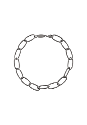 Federica Tosi Lace Bolt Short chain necklace - SILVER