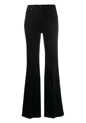 7 For All Mankind high-waisted flared jeans - Black