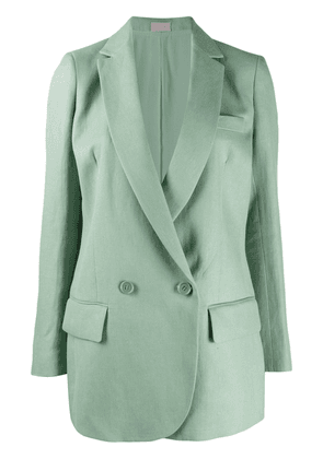 MRZ straight-fit blazer - Green