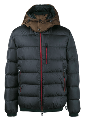 Moncler quilted feather down jacket - Grey