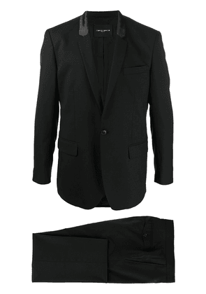 Frankie Morello two-piece formal suit - Black