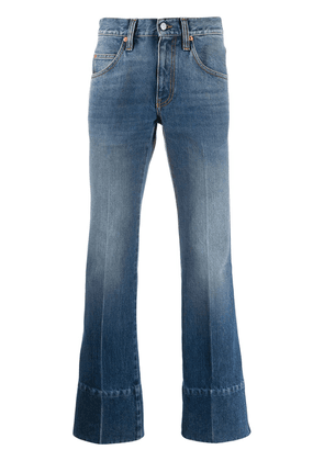 Gucci high-waisted bootcut jeans - Blue
